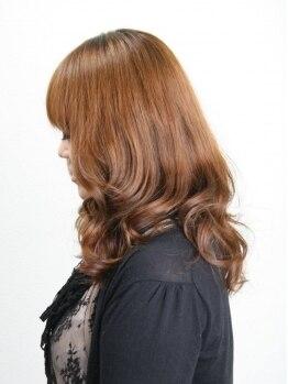 ヘアクラブ シャンティー 伏屋店(hair club shanty)の写真/【中川区】デジタルパーマ¥14040→¥11440!ふんわりとした女性らしさを手にいれよう♪