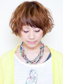 ヤヨイヘアー(YAYOI HAIR)の写真/『パーマをあてたいけど、ハイダメージだから…』お悩みの方もう諦めないで!憧れのふわ髪を叶えてくれる☆