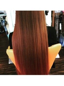 ヘアーアンドメイクナチュールの写真/話題沸騰のoggiottoトリートメントで髪の内部から徹底補修。キレイな髪質の持続力も抜群★