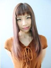 エミュー 研究学園店(emu)ツヤカラーストレートスタイル