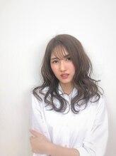 アニー(annie hair design)【annie】透明感ミディアム