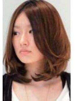 ヘアメイク ケイ(hair make KEI)の写真/髪を傷めず毛先までキレイに染めてくれるのは《hair make KEI》あなたの要望・悩み何でも相談して☆