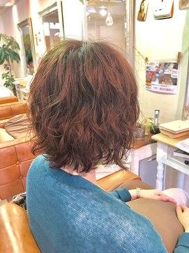 ファミーユ ヘア(Famille Hair)30~40代オススメ! セット楽チン☆ショートパーマ