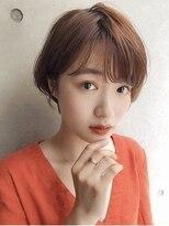サンド オモテサンドウ(sand omotesando)【へぎ】前髪あり可愛い丸みショート