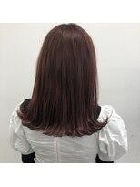 ヘアーアイストゥーレ(HAIR ICI TRE)春カラーピンクベージュ