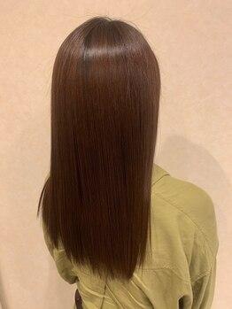 ベーシック ヘア クリエイション(BASIC hair creation)の写真/サラサラな指通りに驚く!<#イマヘア美髪改善トリートメント>を一度ご体感下さい♪