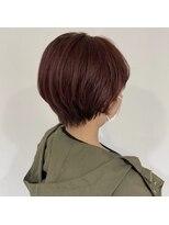 ヘアーアイストゥーレ(HAIR ICI TRE)暖色 ショート