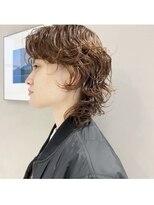フェン ヘアーアイス(Fen.hair ici)ネオウルフ パーマスタイル 大人かわいい