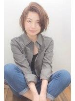 ミッカ(micca)【micca下北沢】★おフェロなかきあげ前髪ウェットボブ★