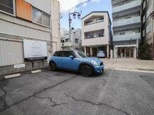 美容室 ココ(COCO)の雰囲気(運転が苦手な方でも停めやすい駐車場!4台スペース有り!無料☆)
