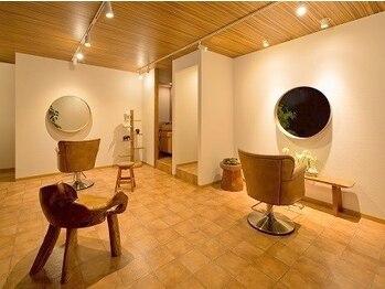 ピース ミッション(peace mission)の写真/【ウイルス対策◎】2席のみのプライベートサロン☆ゆとりのある贅沢空間で癒しのサロンタイムを