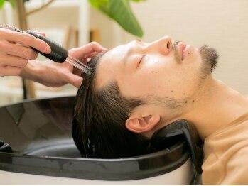 モッズヘア メン 上尾東口店(mod's hair men)の写真/mod's hair【men】こだわるメンズの為のモッズヘアが上尾駅東口1分にOPEN。癒しのSPA系クーポンも充実!