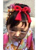 サトワ(Satowa)3歳日本髪