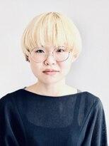 White blonde mash