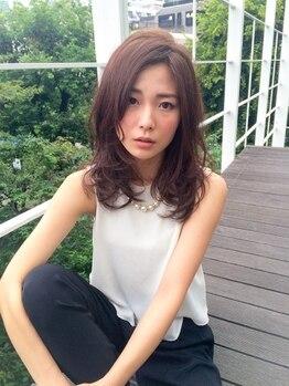 ヘアデザインクラフト(hair design CRAFT)の写真/<新松戸駅2分>サロン帰りのスタイルを自宅でも再現可能に◎ダメージレスな技術で柔らかな質感へ導きます。