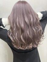 ソース ヘア アトリエ 京橋(Source hair atelier)【SOURCE】ピンクラベージュ
