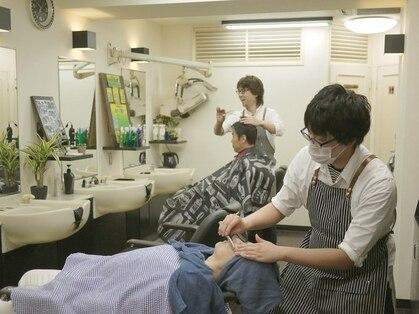 理容室クレオ 新宿の写真