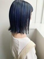 モッズヘア 仙台PARCO店(mod's hair)【志賀】ビビッドブルー