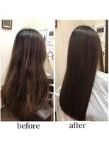 髪質改善 美髮モイスチャーチャージカラー+カット