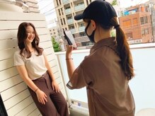 エフィールリアモ(afeel riamo)の雰囲気(ベランダはおしゃれ女子に人気の撮影スポット☆)