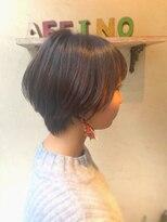 ヘアーメイク アフィーノ(hair make affino)ナチュラルショートヘア