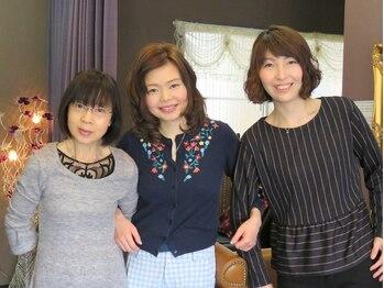 """ジュエラ(JEWELA)の写真/女性スタッフのみ☆高い技術力と提案力、女性ならではのカウンセリングで""""なりたい""""を叶えてくれる―。"""
