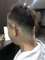バッチリ短髪