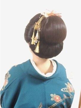 パシャ(Pasha)日本髪風♪和装ヘアセット☆