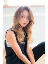 アーサス ヘアー デザイン 本八幡店(Ursus hair Design)大人透明感×ラフルーズウェーブ