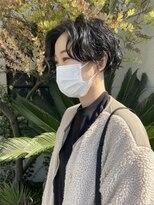 パーマ_前髪_イメチェン