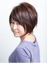 ヘアサロン カミワザ ライズ(hair salon kamiwaza Raiz')頭の形が綺麗に見える、メリハリショート