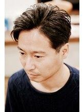 コロナヘアー(corona hair)オールバック七三スタイル