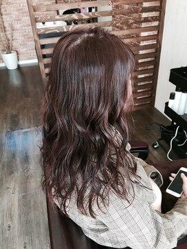プロキシムヘアワークス(proxim hair works)ユルふわロング