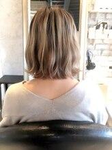 ヘアー アトリエ エゴン(hair atelier EGON)切りっぱなしボブ