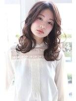 リリィ ヘアデザイン(LiLy hair design)LiLy hair design ~ 波まきセミロング