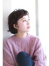 アシャ ヘアー ソリューション 神戸店(asha hair solution)セミウェットボブ