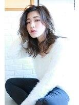 リリィ ヘアデザイン(LiLy hair design)LiLy hair design ~ かきあげセミロング