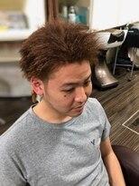 ヘアールーム クリア(hair room clear)ツイストパーマ&カラー