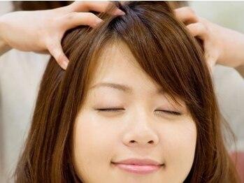 美容室クッ シュの写真/日本髪を結っている舞妓さんの頭皮のストレスと疲れをとる《舞妓スパ》で健康な地肌へ―。