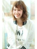 ミンクス ハラジュク(MINX harajuku)【MINX藤田】人気髪型 エアリーナチュラルミディ