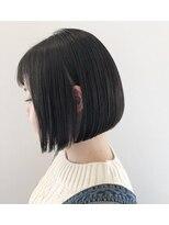 シャンプー ひろせ店(SHAMPOO)ツヤ髪&美フォルムで魅了!引き算上手なシンプルボブ