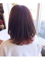 ヘアー リラクゼーション アンヴィ(Hair Relaxation anvi)レッドブラウン☆裾カラー