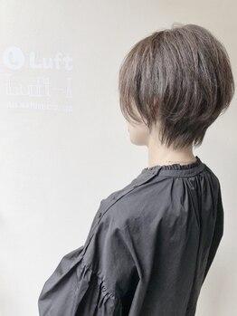 ルフト(Luft)の写真/【360度どこから見ても美しいショートスタイル】髪質や骨格、バランスを見極め美しいシルエットを生み出す