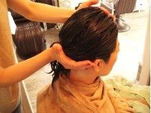エンズヘアー(Ends Hair)の雰囲気(ヘッドスパ施工中)