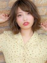 オーブ ヘアー アオヤマ 青山店(AUBE HAIR AOYAMA)外ハネ☆色気のある小顔カット