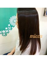 ミッカ(micca)【micca下北沢】ツヤのあるヘアに☆深みのあるチェリーレッド