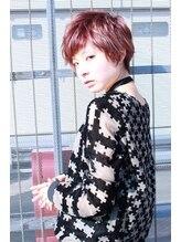 レンジシアオヤマ(RENJISHI AOYAMA)透け感カラーのベリーショート