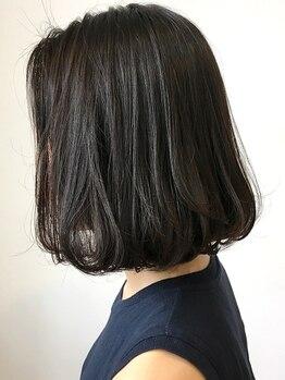 ザヘアーショップ(THE HAIR SHOP)の写真/カットで印象が『グン』と変わる!バランスが大切なショート・ボブ。柔らかシルエットの褒められHairに♪