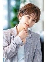 【HAVANA渋谷】大人かわいい☆ひし形小顔ショート×イルミナ