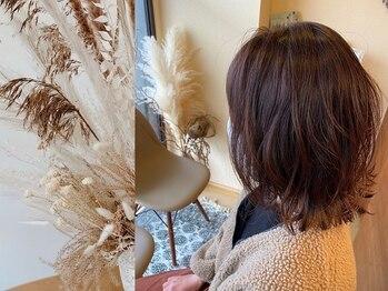 ヘアクリエイションソウル(Hair creation Sowl)の写真/今話題の【プリカール】導入♪自然な根元カールでおしゃれ度UP!生え際の悩みもカバーできる人気パーマ◎